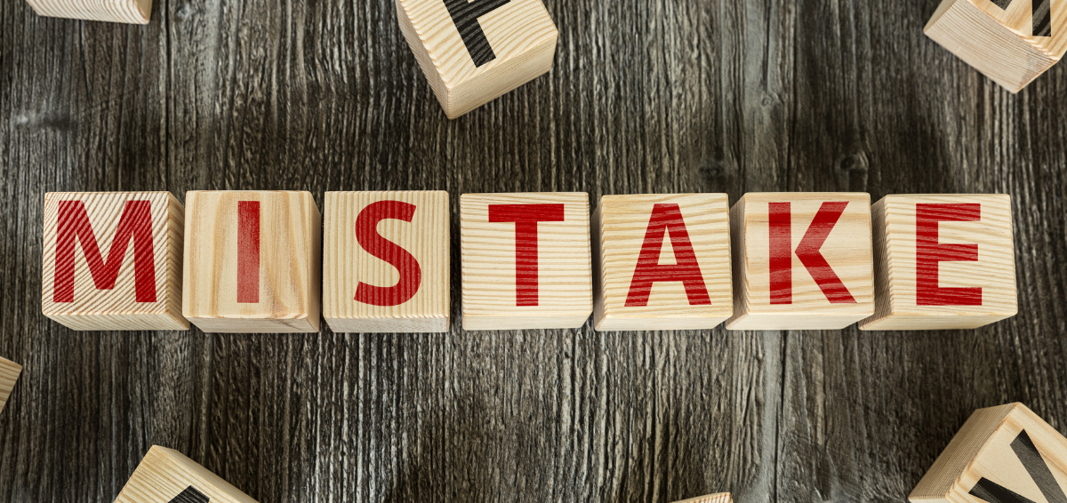 "Image with ""mistake"" written in scrabble tiles"